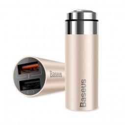 Автомобильная зарядка Baseus CarQ Series QC Dual USB
