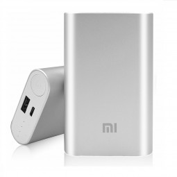 Power Bank 10000mAh Xiaomi Silver